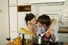 Romantic Ideas for Men: Cooking Together