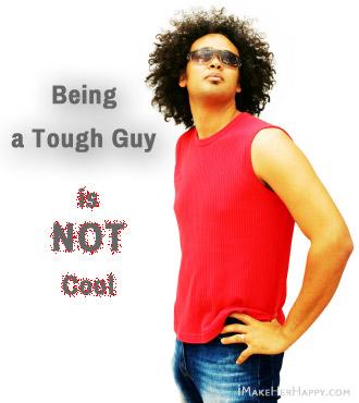 Why Women Dislike Tough Guys