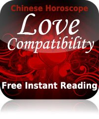 Chinese Horoscope Love Compatibility Reading